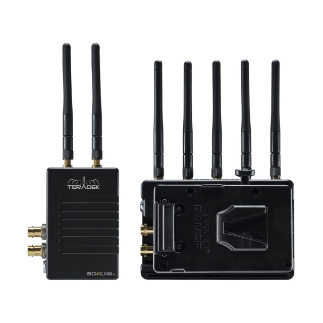 Teradek Bolt XT 1000 Wireless SDI/HDMI TX/RX Delux Kit V-l V-lock