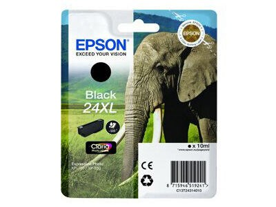 Epson Bläckpatron 24XL Claria Photo HD svart 10 ml T2431
