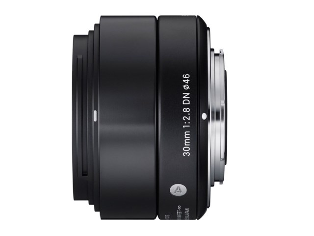 Sigma 30mm f/2,8 DC DN Art sort til Micro 4/3