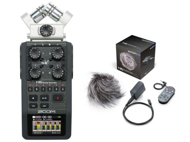 online store e5c04 17d14 Handy Recorder H6 + tillbehörspaket APH-6