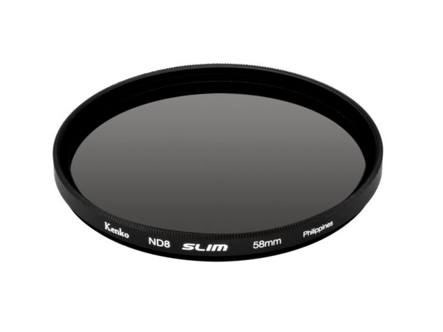 Kenko ND-filter ND8 slim 58mm (3 steg)