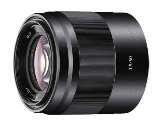 Sony E 50mm f/1,8 OSS svart