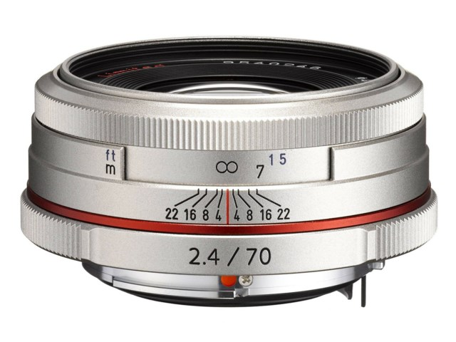 Pentax HD DA 70mm f/2,4 Limited silver