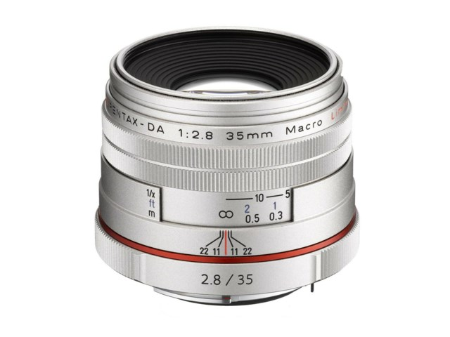 Pentax DA 35mm f/2,8 HD Macro Limited silver