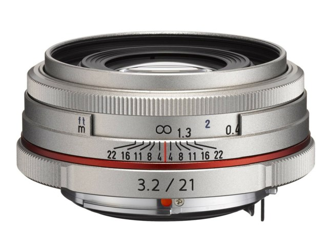 Pentax DA 21mm f/3,2 HD AL Limited silver