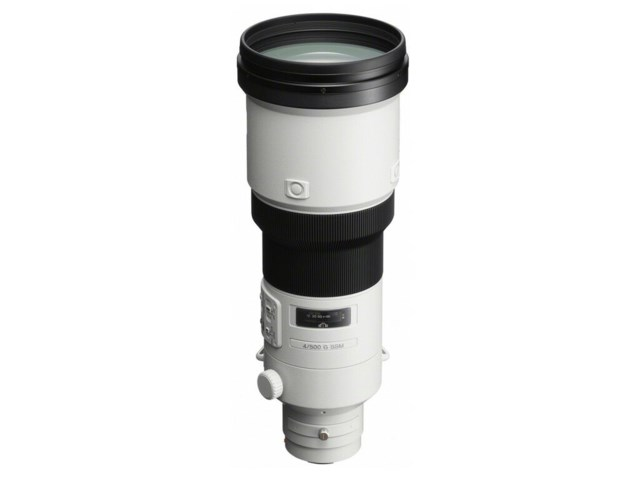 Sony 500mm f/4 G SSM