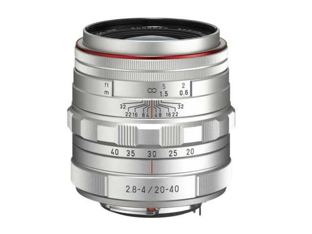 Pentax HD DA 20-40mm f/2,8-4 ED Limited DC WR silver
