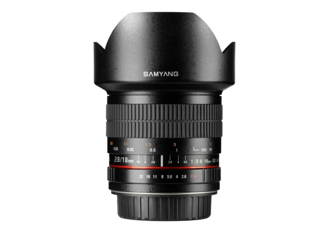 Samyang 10mm f/2,8 ED AS NCS CS til Canon EOS
