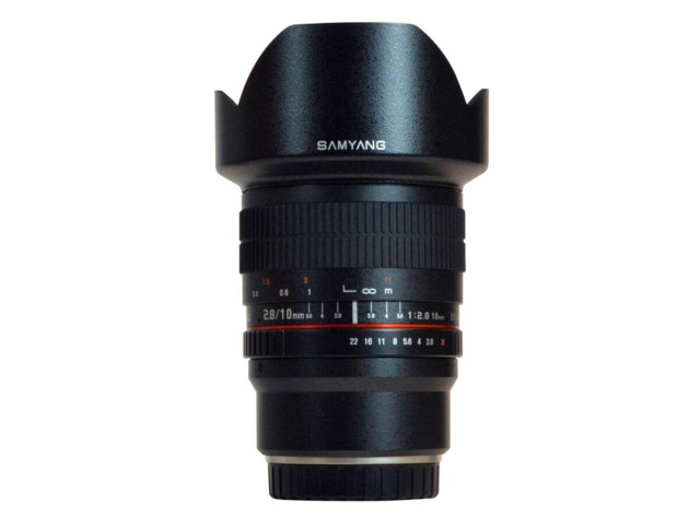 Samyang 10mm f/2,8 ED AS NCS CS til Canon M