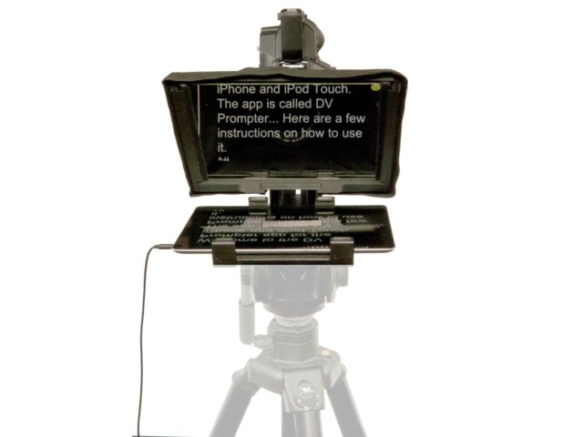 DataVideo TP-300 teleprompter till iPad/Android