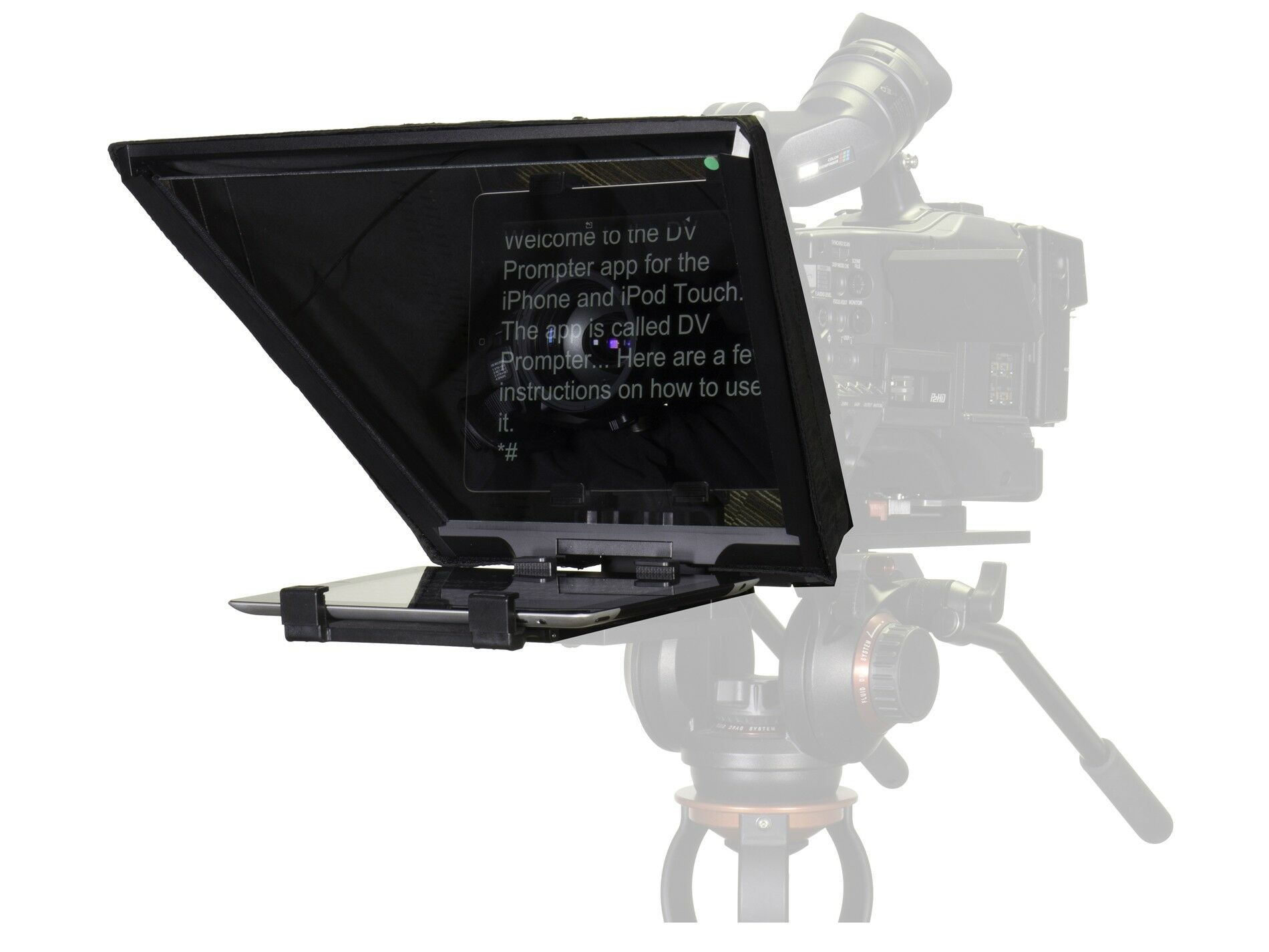 DataVideo TP-650 ENG teleprompter till iPad/Android med