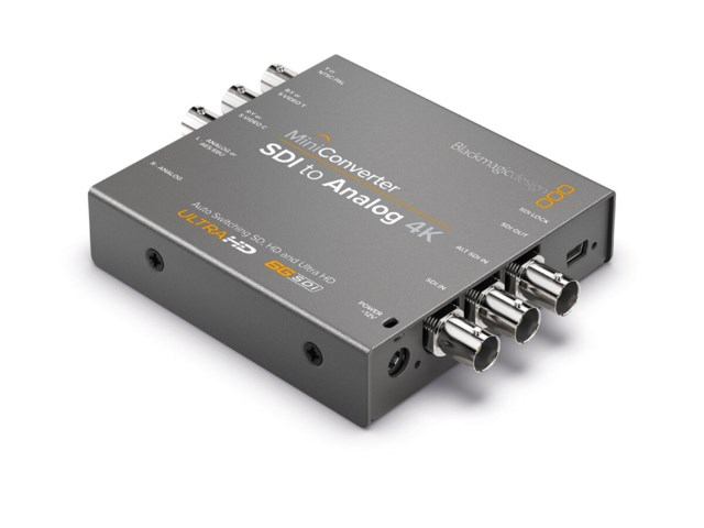 Blackmagic Design Mini Converter - SDI till Analog 4K