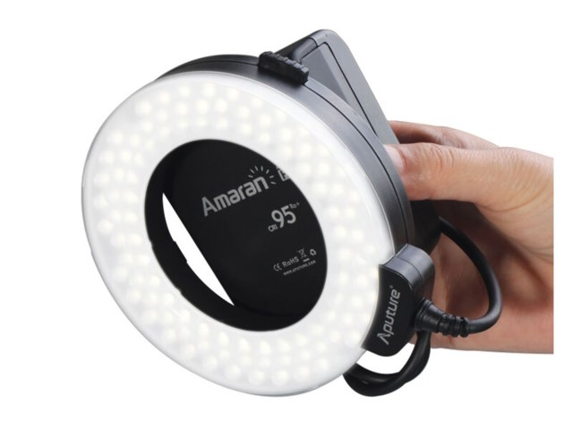 Aputure Ringflash LED Amaran Halo HC100 til Canon