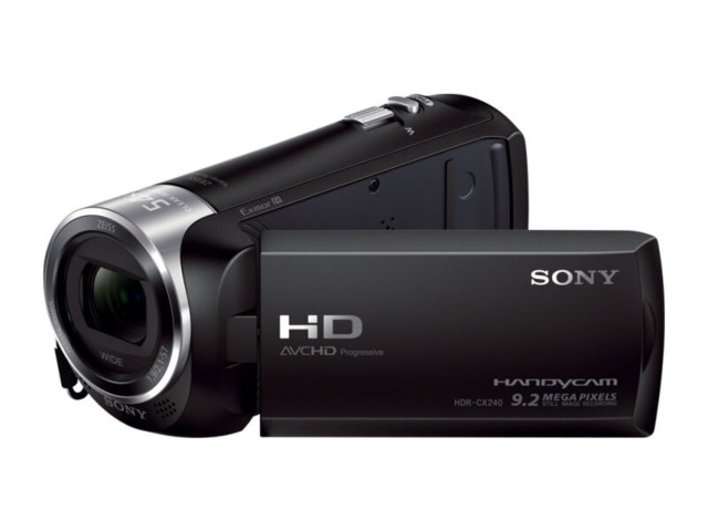 Sony HDR-CX240E sort