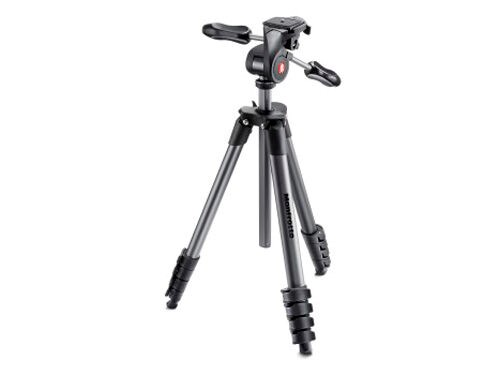 Manfrotto Stativkit Compact Advanced Svart