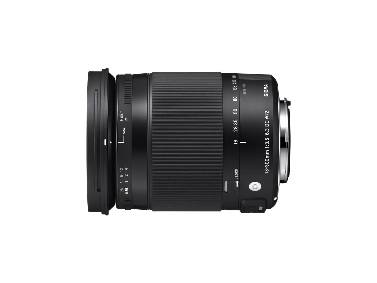 Sigma 18-300mm f/3,5-6,3 DC Macro OS HSM Contemporary til Canon