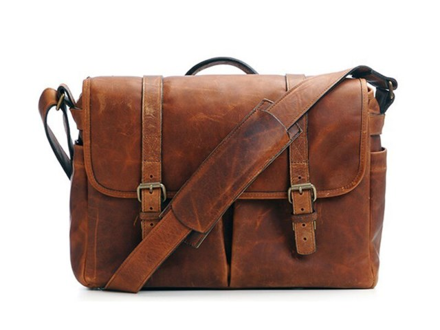 ONA Kamerataske Brixton Cognac Leather