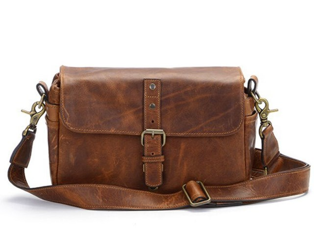 ONA Kamerataske Bowery Cognac Leather