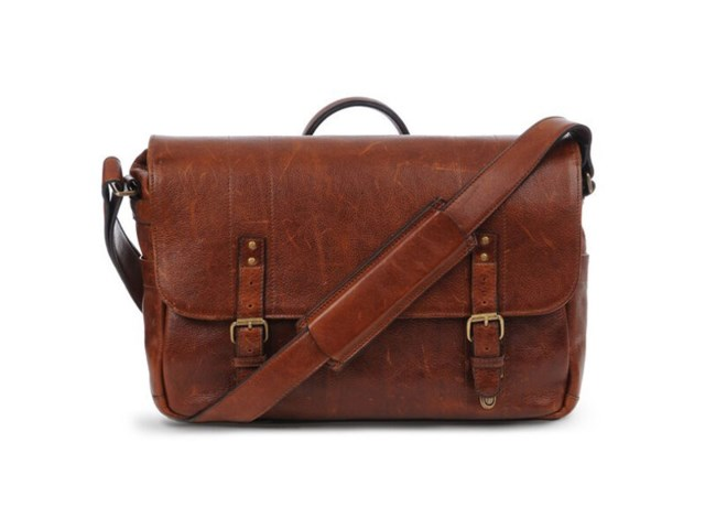 ONA Kamerataske Union Street Walnut Leather