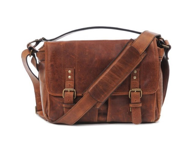 ONA Kamerataske Prince Street Antique Cognac Leather