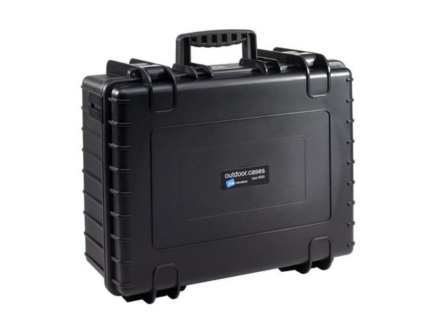 B+W Outdoor Case Type 6000 svart