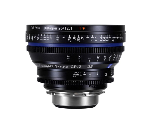 Zeiss Compact Prime CP.2 25mm T2.1 Micro 4/3-mount