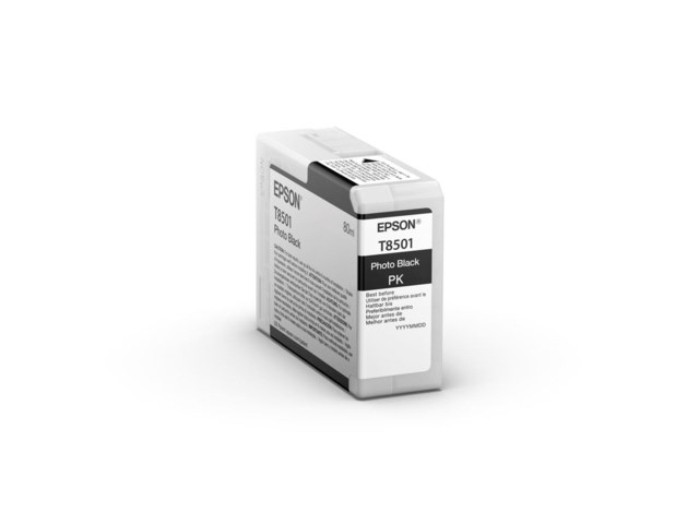 Epson Blækpatron Ultrachrome HD foto sort 80 ml