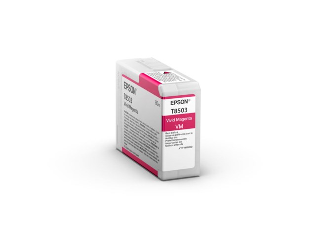 Epson Blækpatron Ultrachrome HD vivid magenta 80 ml