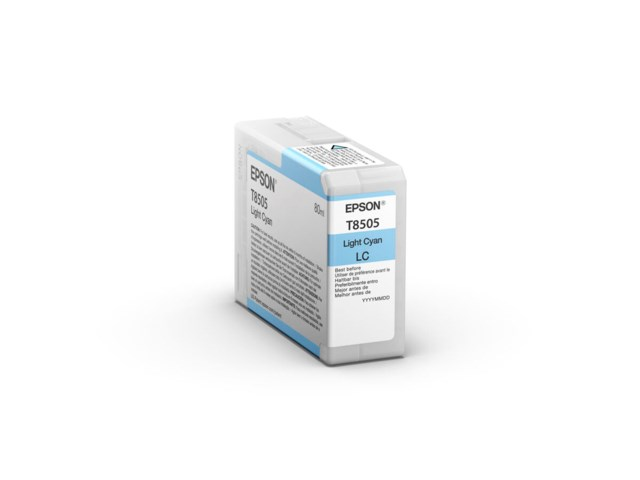 Epson Blækpatron Ultrachrome HD light cyan 80 ml