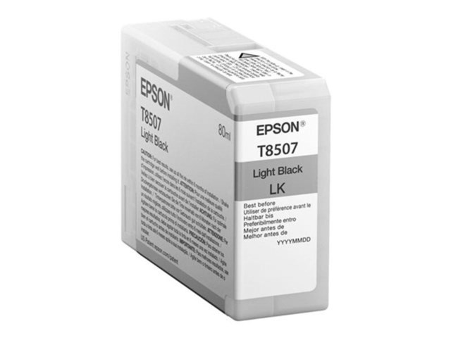 Epson Blækpatron Ultrachrome HD lys sort 80 ml