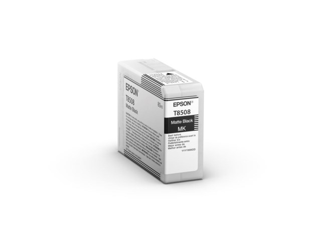 Epson Blækpatron Ultrachrome HD mat sort 80 ml
