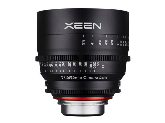 Samyang Xeen 85mm T1.5 Cinema til Micro 4/3