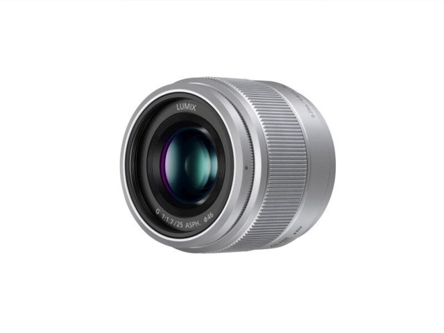Panasonic Lumix G 25mm f/1,7 ASPH silver