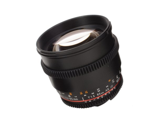 Samyang 85mm T1.5 AS IF UMC VDSLR II til Micro 4/3