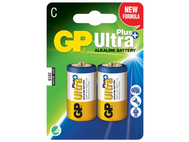 GP Batteri LR14/C Ultra Plus 2-pack