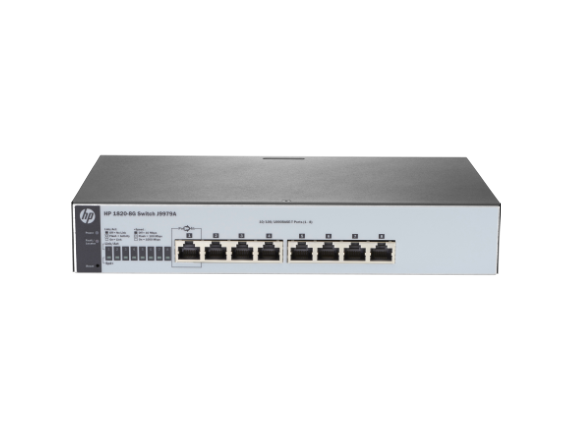 Hp Switch 1820-8G  8-port