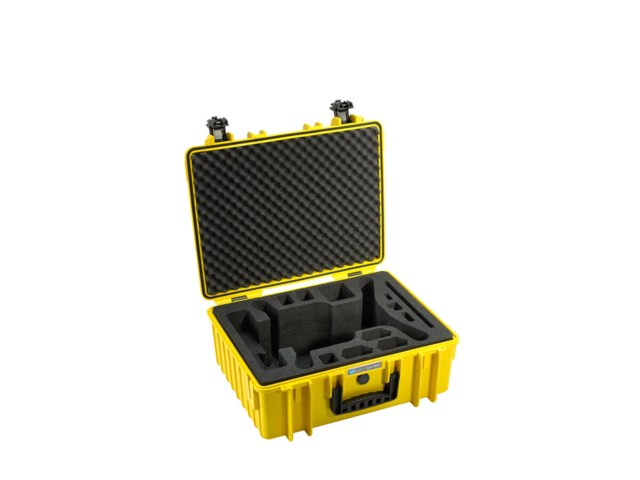 B+W Outdoor Case Type 6000 gul till 3DR Solo
