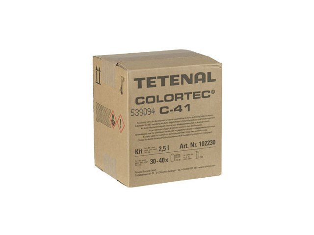 Tetenal Colortech C-41 kit 2,5 liter