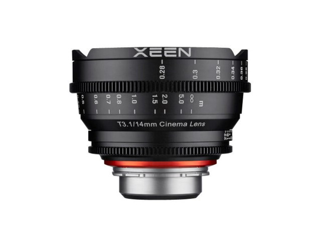 Samyang Xeen 14mm T3.1 Cinema til Micro 4/3