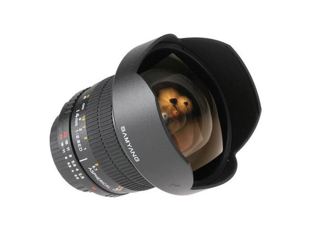 Samyang 14mm f/2,8 IF ED UMC Aspherical till Canon (AE)