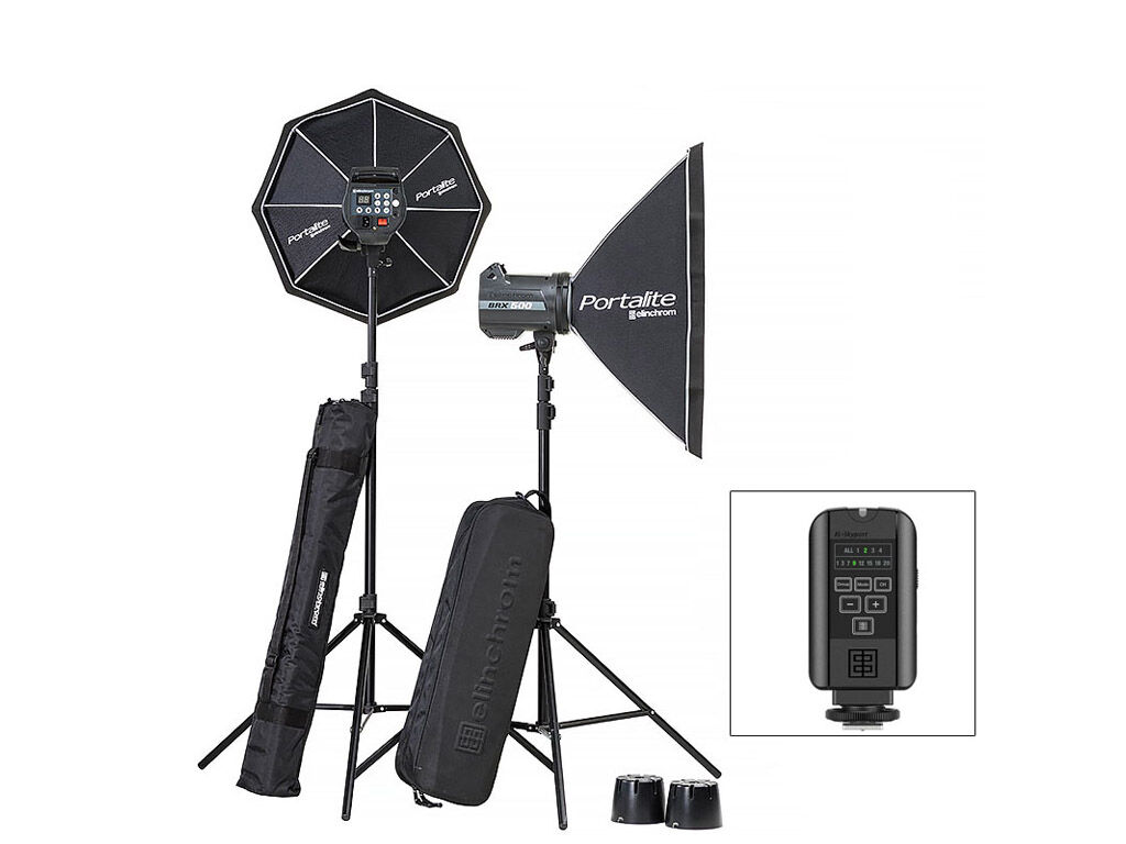Elinchrom Blixtpaket BRX 500/500 Softbox To Go