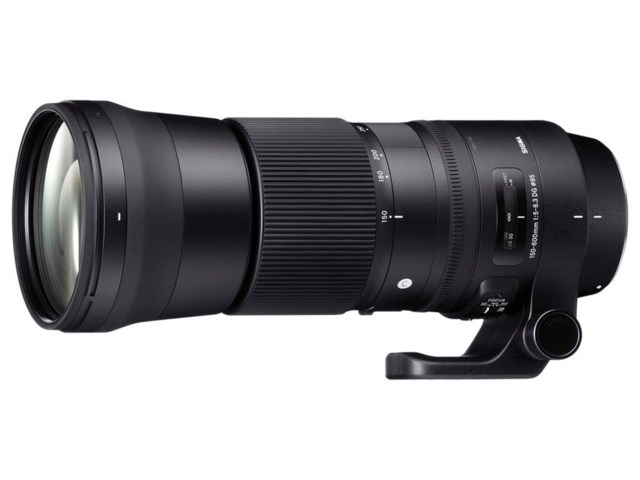 Sigma 150-600mm f/5-6,3 DG OS HSM Contemporary til