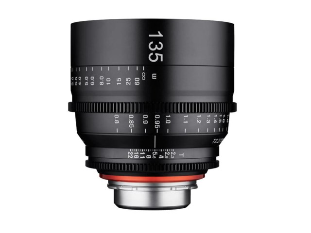 Samyang Xeen 135mm T2.2 Cinema til Micro 4/2