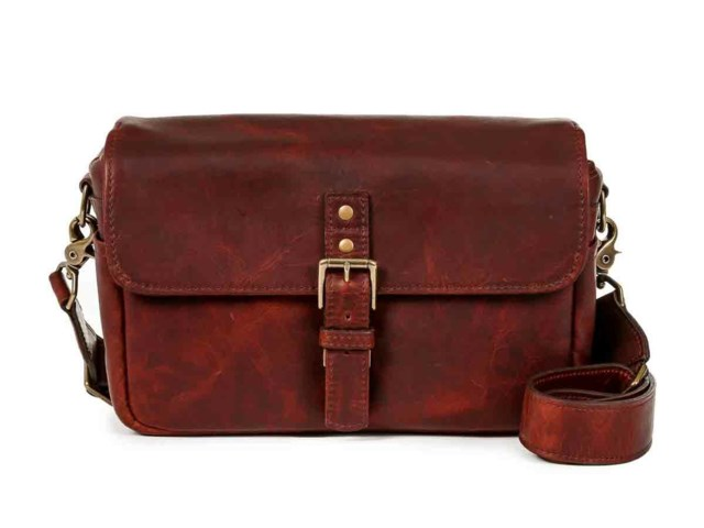 ONA Kameraväska Bowery Bordeaux Leather