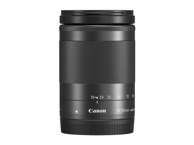 Canon EF-M 18-150mm f/3,5-6,3 IS STM sort