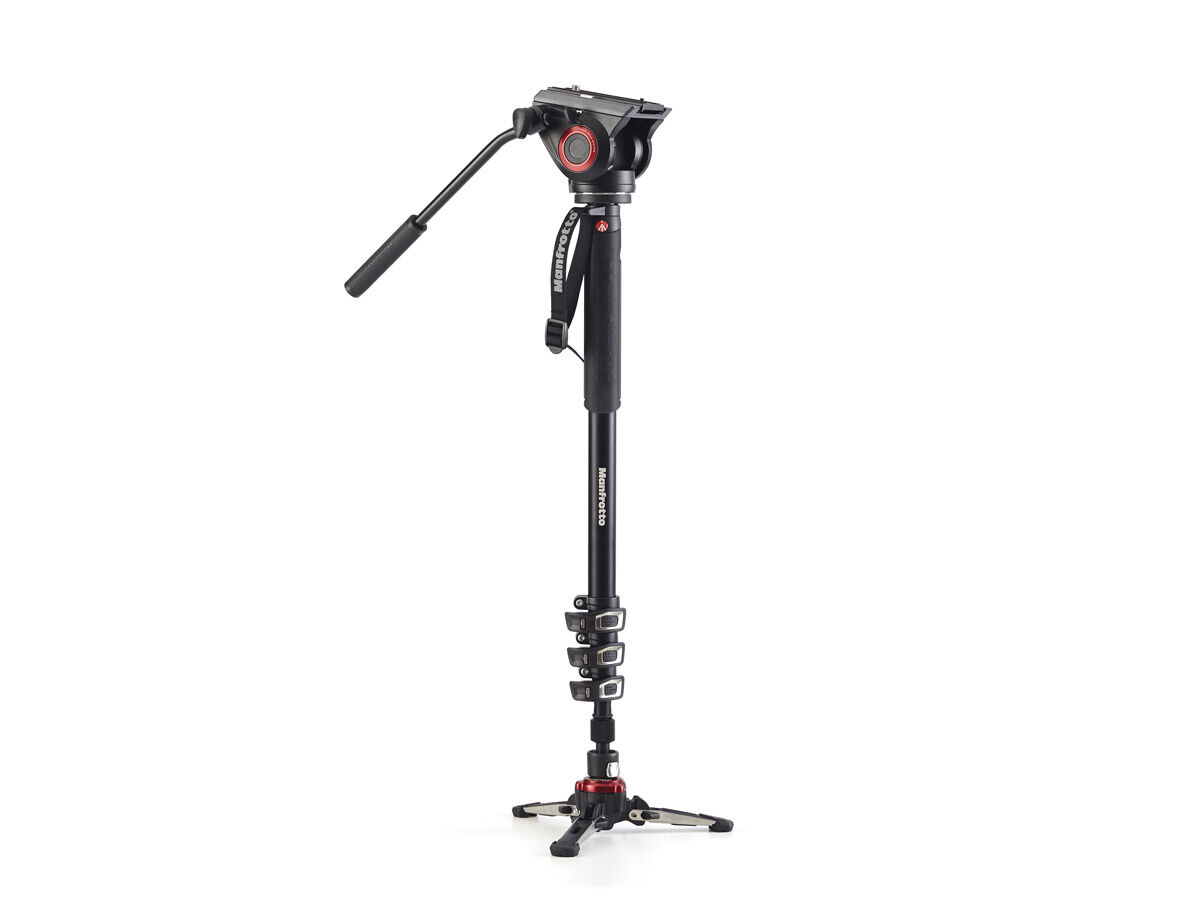 Manfrotto Enbensstativkit Video MVMXPRO500 aluminium