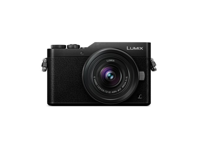 Panasonic Lumix DMC-GX800 sort + G Vario 12-32mm f/3,5-5,6