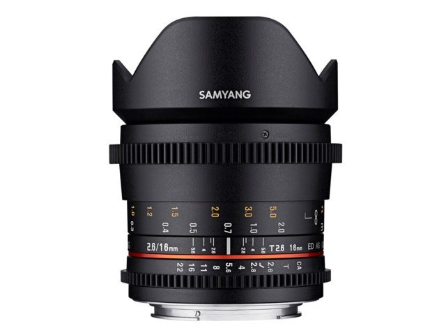 Samyang VDSLR 16mm T2.6 ED AS UMC til Canon M