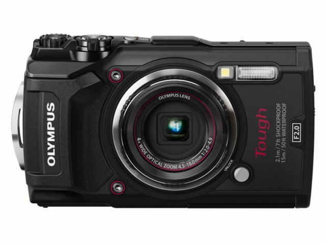 Olympus Tough TG-5 svart
