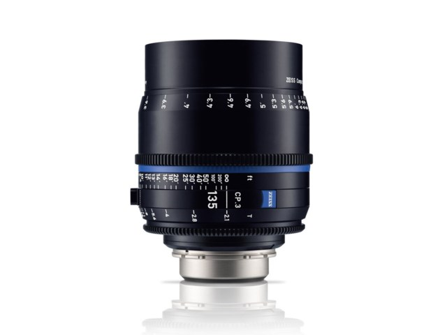 Zeiss Compact Prime CP.3 135mm T2.1 Canon EF-mount